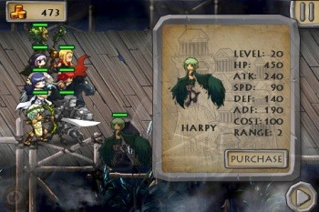 War of the Titans - пошаговая RPG для Android