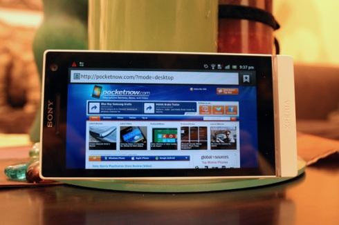 Sony XPERIA S - Обзор мобильного телефона