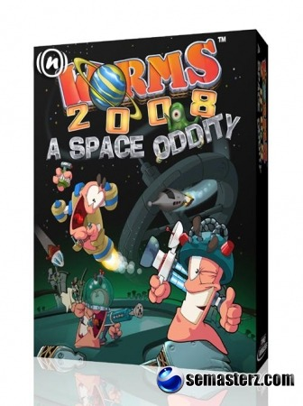 Worms 2008: A Space Oddity - java игра