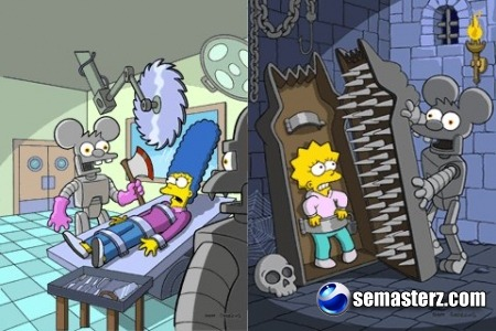 The Simpsons 2: Itchy & Scratchy Land - Java игра для Sony Ericsson