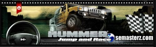 Hummer: Jump And Race - Java игра для Sony Ericsson