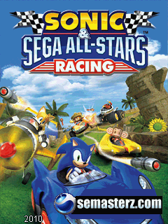 Sonic and Sega All Stars Racing - Java игра для Sony Ericsson