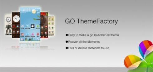 Theme maker - GO LAUNCHER для Android