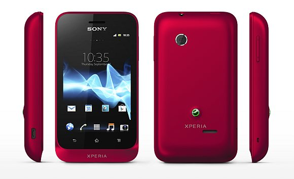 Sony Xperia Tipo - бюджетный смартфон